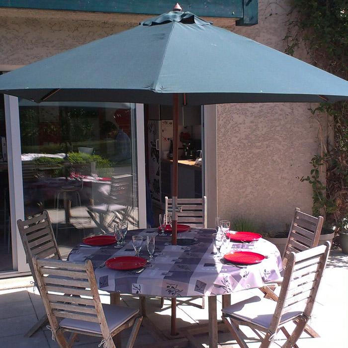 Zeshoekige parasol OMBRA - Alterego Design - Foto 1