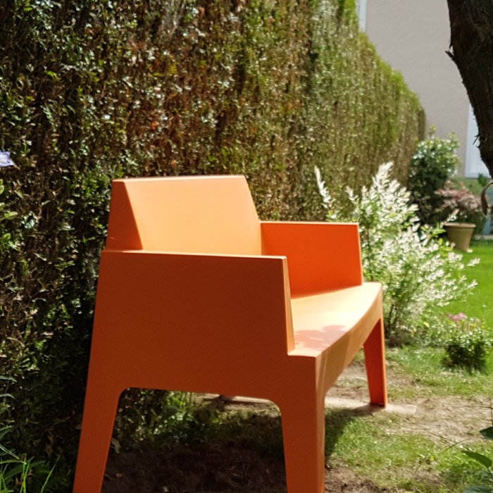 Banc de jardin PLEMO XL - Alterego Design - Photo 4