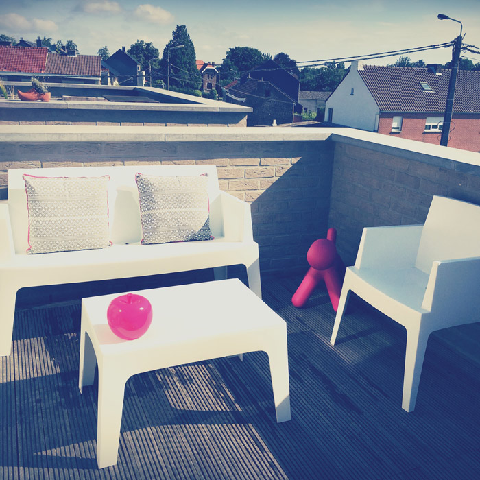 Banc de jardin PLEMO XL - Alterego Design - Photo 6