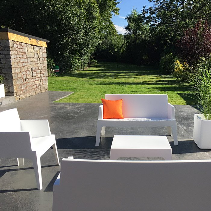 Banc de jardin PLEMO XL - Alterego Design - Photo 9