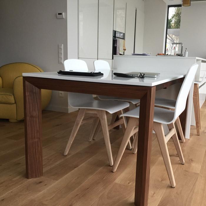Table de salle à manger SCANDIK - Alterego design - Photo 2