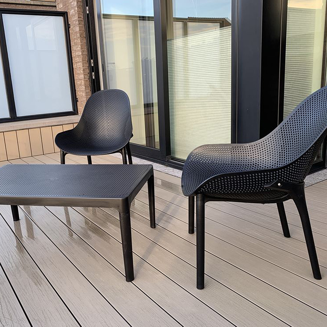 Fauteuil lounge de jardin SILO - Alterego Design - Photo 3