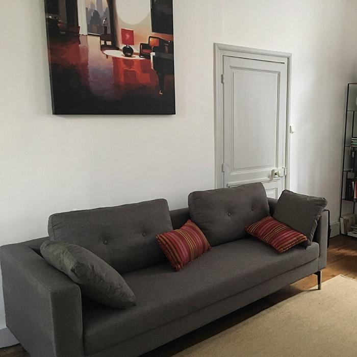SIXTY rechte zitbank - Alterego Design - Foto 1