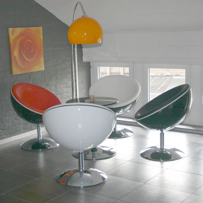 Lampadaire en arc BIG BOW SMALL - Alterego Design - Photo 1