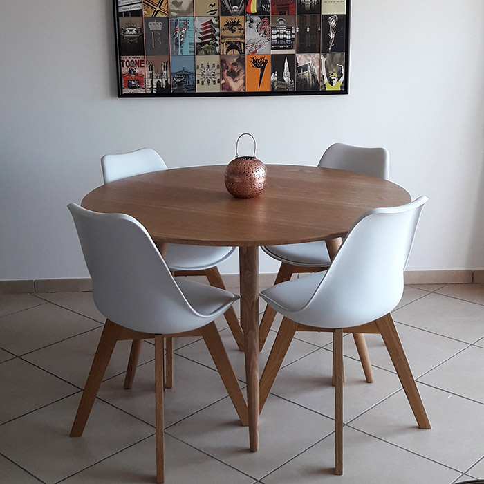 Table ronde SWEDY - Alterego Design - Photo 4