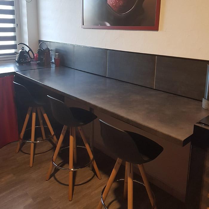 Tabouret de bar TATAMI - Alterego Design - Photo 1