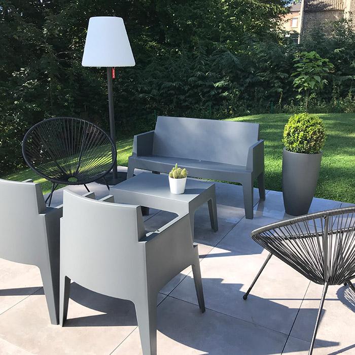 Lounge zetel TIKI - Alterego Design - Foto 1