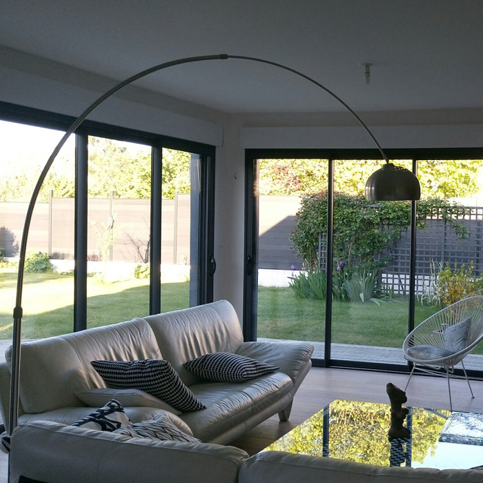 Lampadaire en arc XXL - Alterego Design - Photo 5