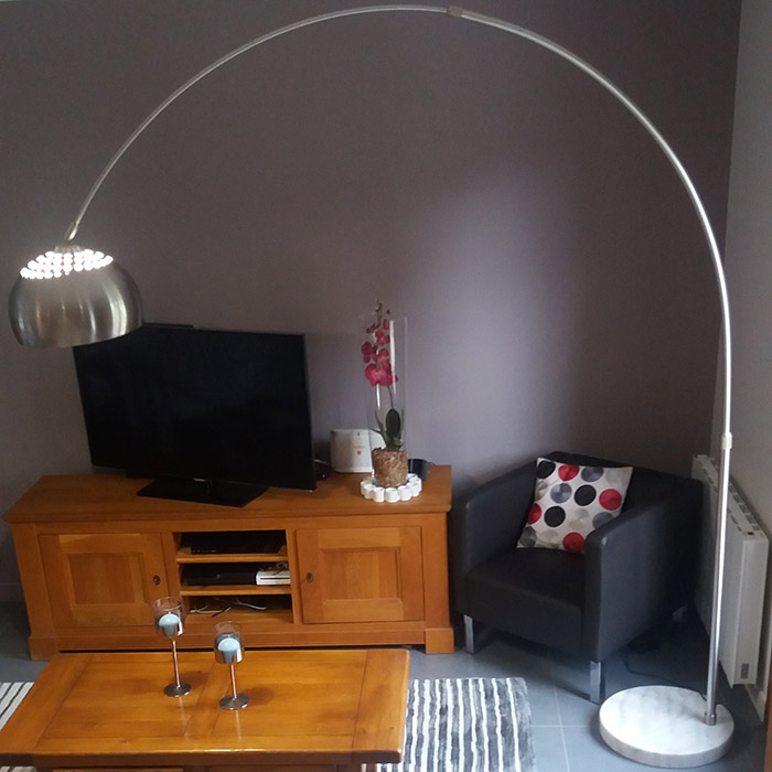 Lampadaire en arc XXL - Alterego Design - Photo 9