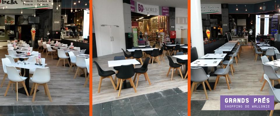 Galerie commerciale Les Grands Prés - Mobilier pour HORECA Alterego Design