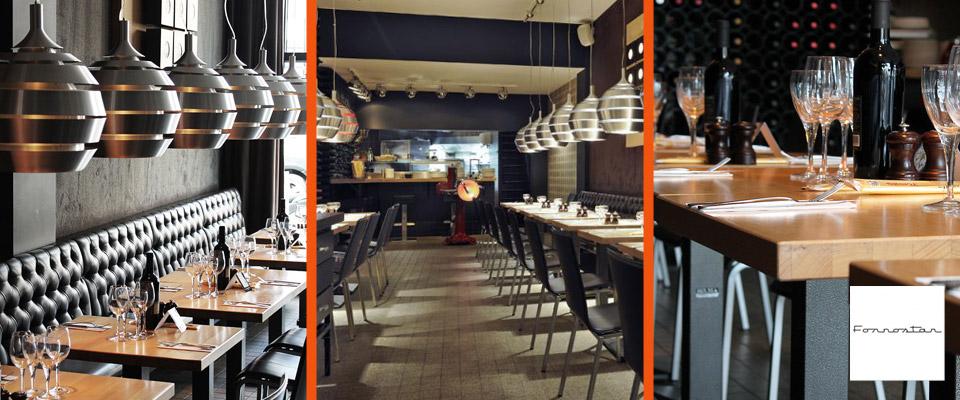 Restaurant Fornostar - Mobilier pour HORECA Alterego Design