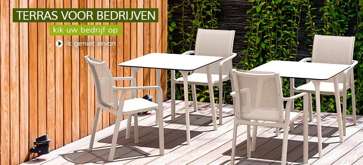 Terrasmeubilair voor horeca - Alterego Design Nederland