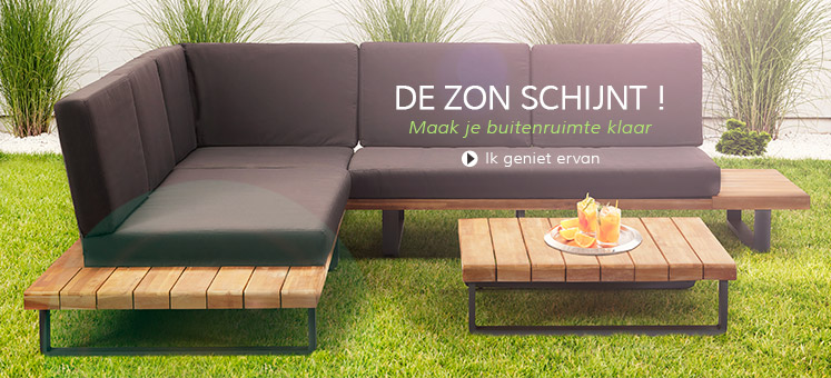 Stel uw terras op - Alterego Design Nederland