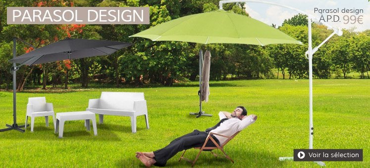 Parasols design - Alterego Design france