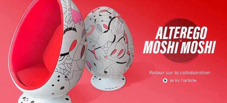 Collaboration MoshiMoshi + Alterego Design