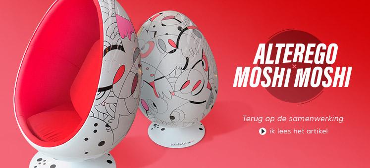 MoshiMoshi en Alterego Design samenwerking