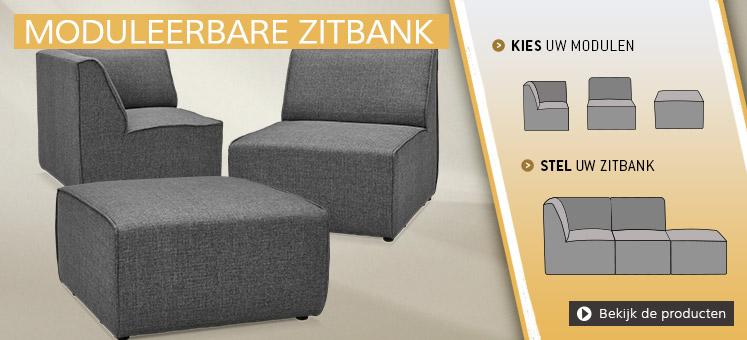 Moduleerbare zitbanken - Alterego Design Nederland