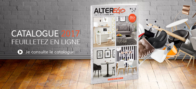 Catalogue 2017 du mobilier Alterego Design Belgique