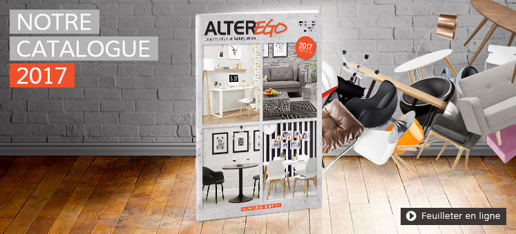 Catalogue 2017 du mobilier Alterego Design France