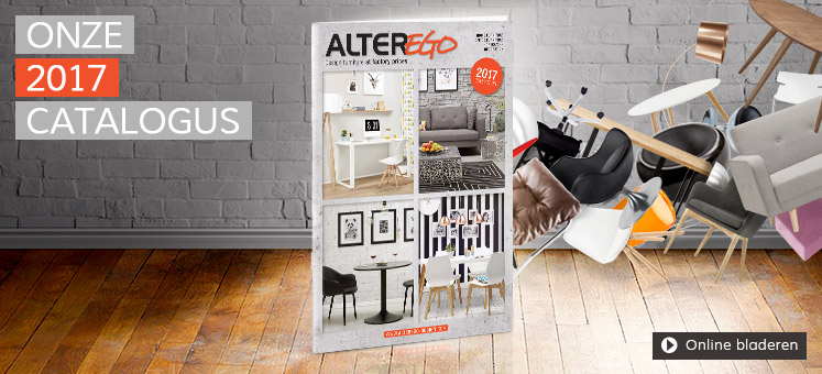 Catalogus 2017 Design meubelen Alterego Design Nederland