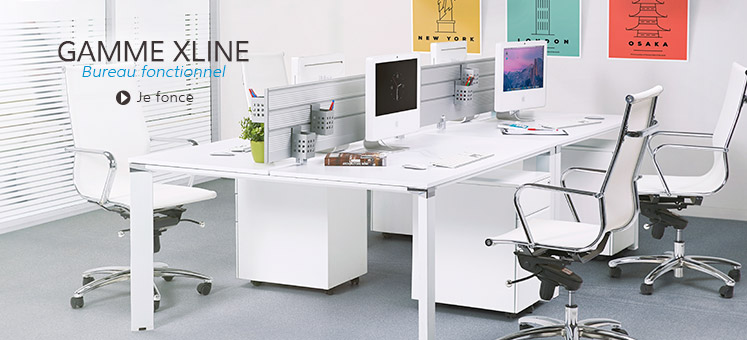 Collection de bureaux XLINE - Alterego Design France