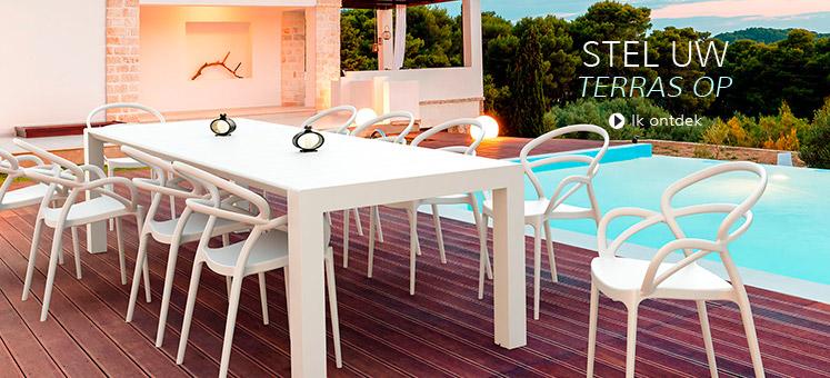 Terras en tuinmeubilair - Alterego Design België