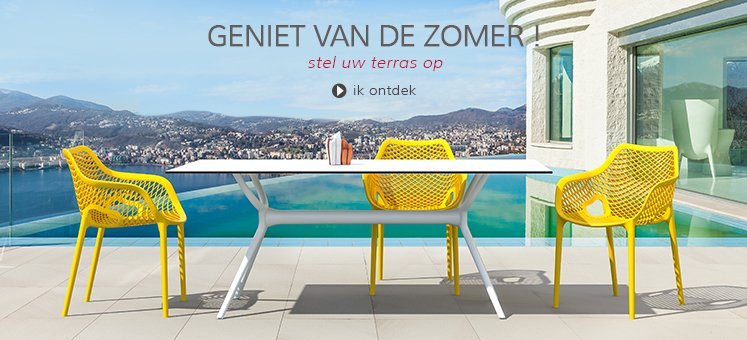 Tuinmeubilair - Alterego Design België