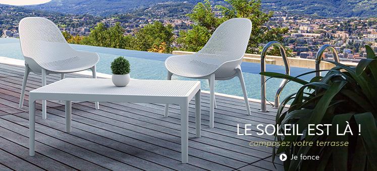 Meubles de jardin - Alterego Design France