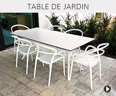 Table de jardin design - Meubles tendances Alterego