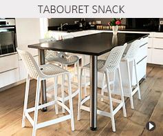 Tabouret snack mi-hauteur design - Meubles tendances Alterego