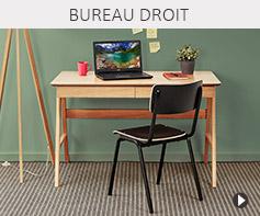 Bureau droit design - Meubles tendances Alterego