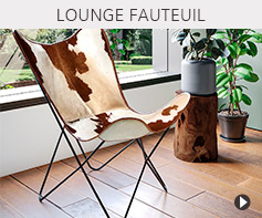 Design lounge zetel - Alterego meubels