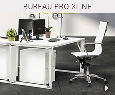 Gamme de bureaux XLINE - Meubles pour professionnels Alterego Design
