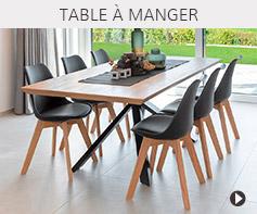 Tables de salle à manger - Meubles tendances Alterego Design