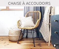 Chaises avec accoudoirs - Meubles tendances Alterego Design