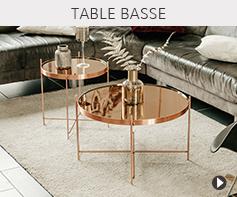 Tables basses de salon - Meubles tendances Alterego Design
