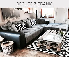 Rechte zitbanken - Alterego meubels