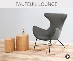 Fauteuils lounge design - Meubles tendances Alterego