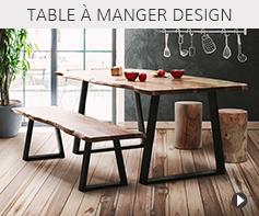 Tables design pour salle à manger - Meubles tendances Alterego