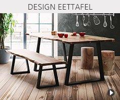 Design eetkamer tafels - Alterego meubels