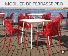 Mobilier de terrasse pour restaurant et café - Meubles Alterego pour l'HoReCa