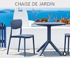 Chaises de jardin design - Meubles tendances Alterego