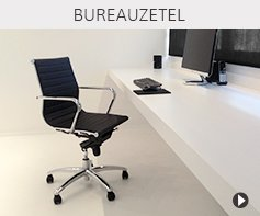 Design bureaustoelen - Alterego meubels