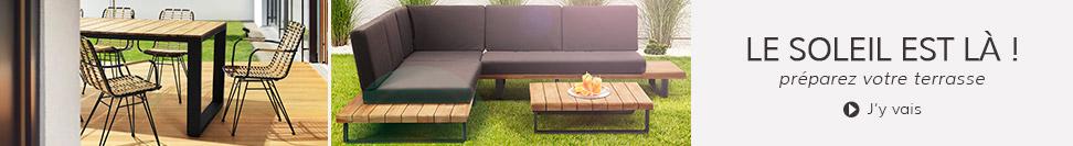 Composez votre terrasse - Meubles de jardin Alterego