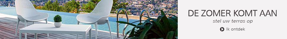 Stel uw terras op - Alterego tuinmeubilair