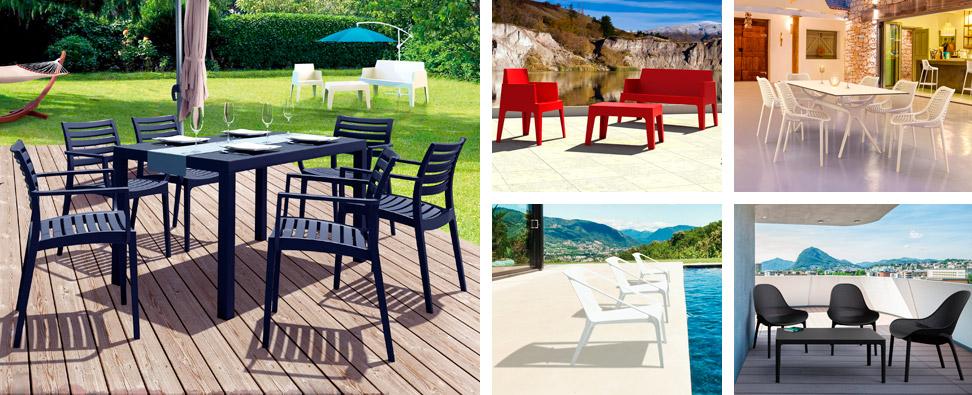 Tables et salons de jardin - Votre coin lounge sur la terrasse !