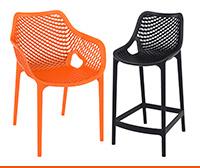 Chaise et tabouret de jardin - Alterego Design