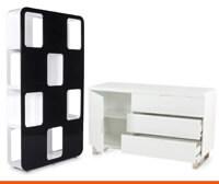 Boekenkast en buffetkast - Alterego Design
