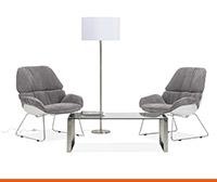 Mobilier d'accueil et de salle d'attente - Alterego Design