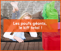Article de blog sur les poufs géants - Alterego Design